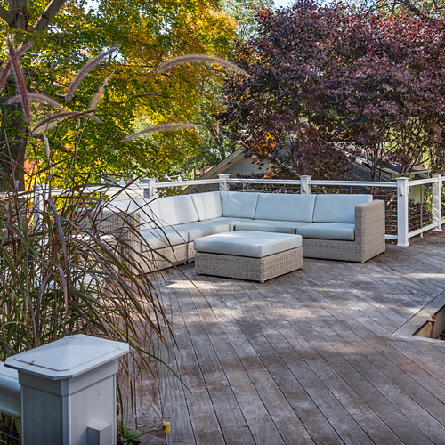Couch for the deck